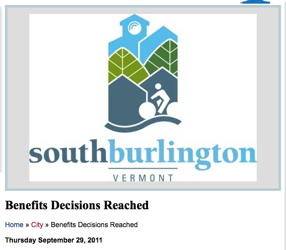 South Burlington Vermont Retirement Plan Hafter Journalism Writer