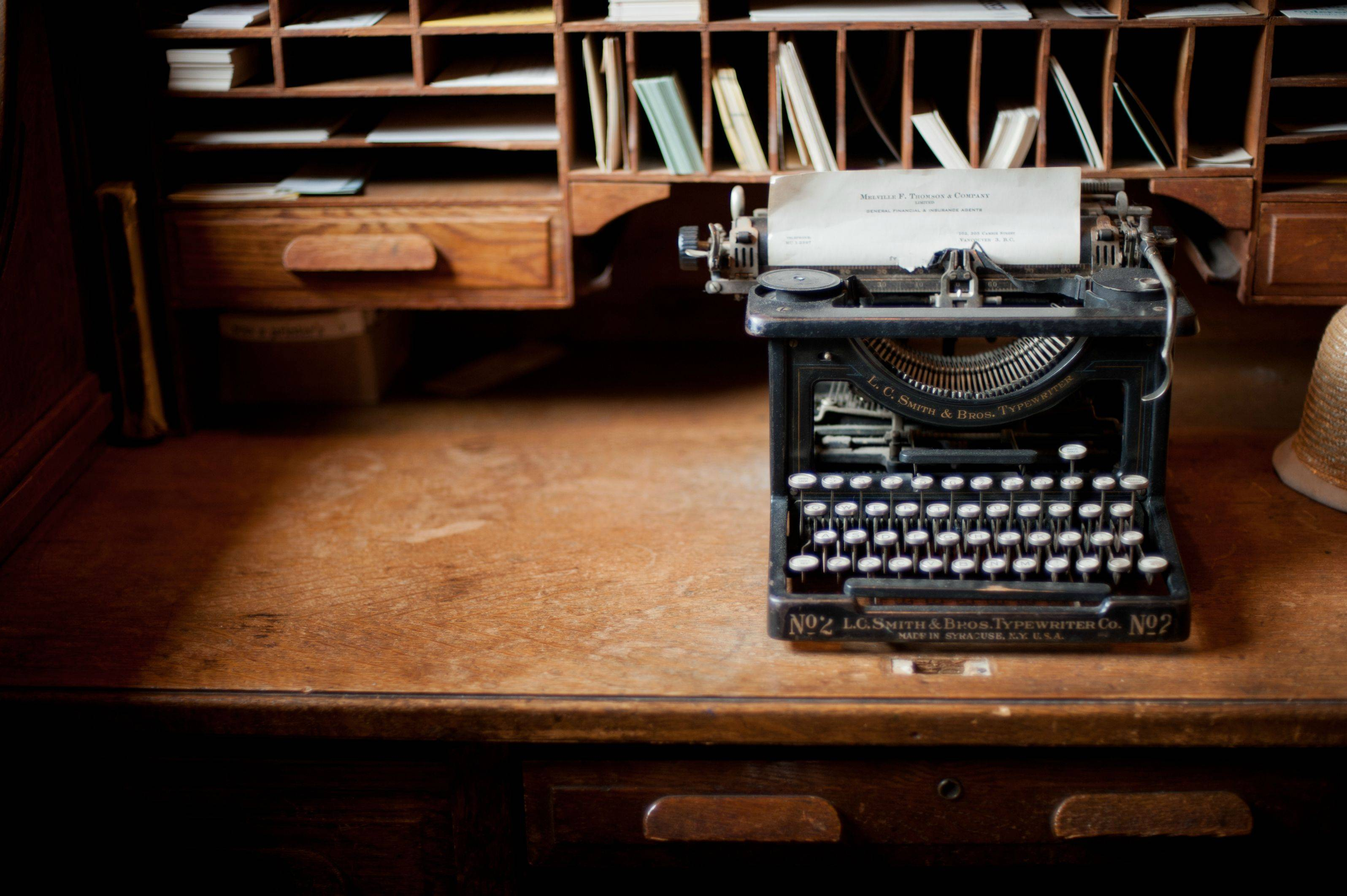 How to simplify writing Write better typewriter